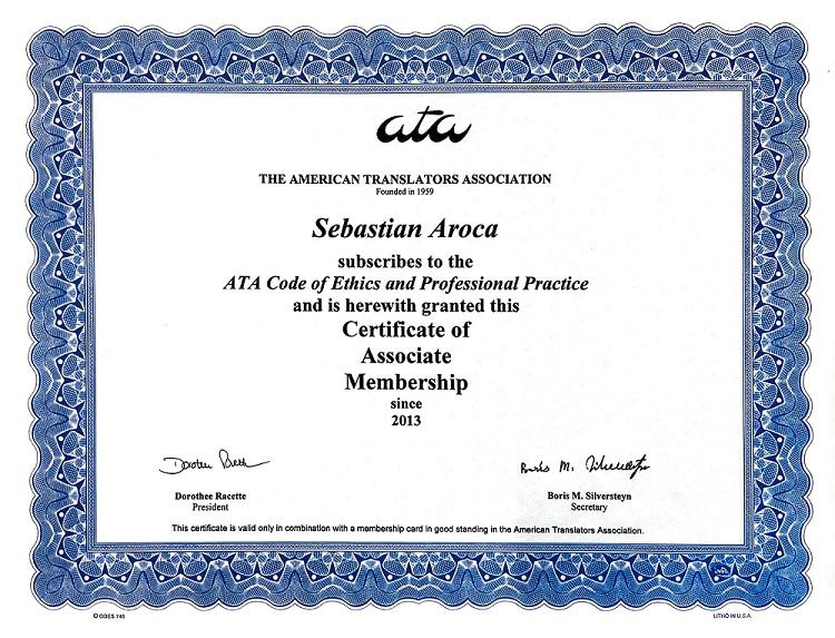 Hispanic Market Advisors ATA translations